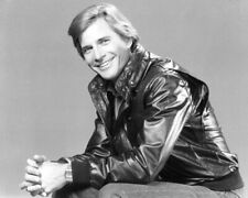 The A-Team Dirk Benedict Leather Jacket 8x10 Photo