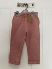 Girls Newbie Trousers/joggers. Age 18-24 Months. Organic Cotton. BNWT