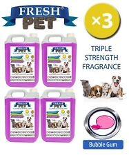 Fresh Pet Niche Chien Désinfectant Triple Force Parfum 4x5L Bubblegum