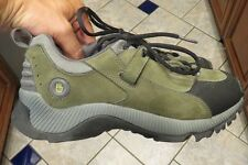 Womens Teva Norman Trail 6489 Green Suede Hiking Trial Running Shoes Boots 8.5