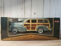 Maisto 1948 Chevy Fleetmaster Woody Station Wagon 1:18 Scale Diecast Model Car
