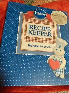 Pillsbury Doughboy Recipe Keeper Unique  NEW SEALED RECIPE BINDER