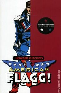 American Flagg TPB Definitive Collection #1-1ST FN 2008 Stock Image