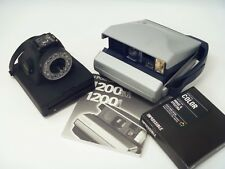 USED Impossible I-1 instant film camera + Polaroid 1200Si + scan adapters + film