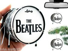 Ringo Starr The Beatles Mini Drums Ornament for Fridge, Christmas, Rear Mirror