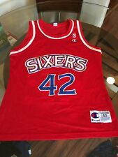 Vintage Jerry Stackhouse 76ers Red Champion Jersey Size 40