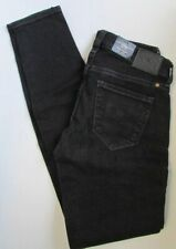 NWT Lucky Brand Jeans Charlie Skinny Black Charcoal Size 4/27