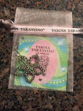 Tarina Tarantino Swarovksi Claro Cristal Cabello Clip Nuevo Impresionante