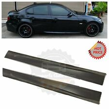06-11 M3 STYLE SIDE SKIRTS ROCKER PANELS FOR BMW E90 SEDAN WAGON 325i 330i 335i