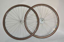 VINTAGE SHIMANO 600 tricolor + MAVIC clincher  wheelset 8s 28' VERY GOOD CONDIT