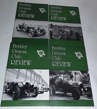 Bentley Drivers Club Review 1987, 4 Issues, 163 Feb, 164 May, 165 Aug, 166 Nov