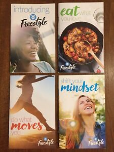 WEIGHT WATCHERS Freestyle Weight Loss Mindset Moves Eat Intro Guide Books Recipe