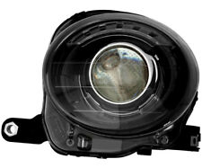 Headlight Assembly w/Bulb Black Trim NEW Left Driver Side For 2012-2017 Fiat 500