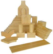 A+ Childsupply Plywood Blocks - 56 Pieces
