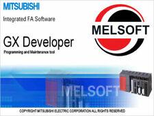 Latest Mitsubishi Plc Programming Melsoft Gx Developer V 898 And Gx Simulator