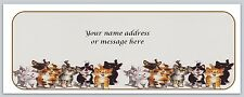 30 Personalized Return Address Labels Cats Buy 3 get 1 free (bo 668)