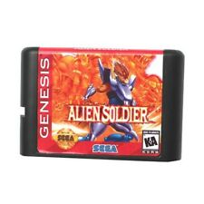 Alien Soldier 16-Bit Fits Sega Genesis Mega Drive Game