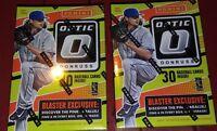 2016 Panini Donruss Optic Baseball 2 Blaster Box lot  6 packs per 5 card  packs
