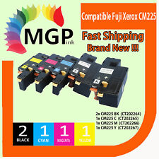 5x CM225 Toner Cartridge for Fuji Xerox Docuprint CP225w CM115w CM225fw