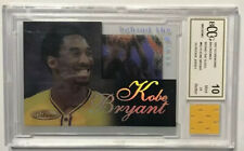 1997 Kobe Bryant Inkredible Behind the Glass Gold w/ Game Used RC  BCCG 10 MINT
