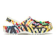Grateful Dead x China Town Market Crocs Tie Dye Us Size 12 Men New With Tags
