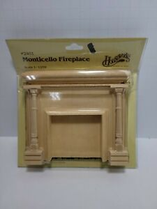Houseworks Monticello Fireplace Kit 2401 1:12