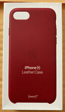 Empty Apple Leather Case Box for iPhone SE 2nd Gen. - (PRODUCT)RED | Charity
