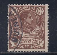 GUINEA (1909) USADO - EDIFIL 66 (30 cts) ALFONSO XIII