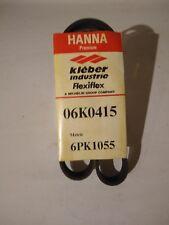 HANNA Automotive Serpentine Belt Part # 06K0415