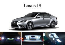 LED for Lexus IS 250 350 Xenon White License Plate/Tag LED Lights Bulbs (2 pcs)