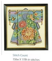 ORIENTAL KIMONO - CROSS STITCH PATTERN ONLY (1a)