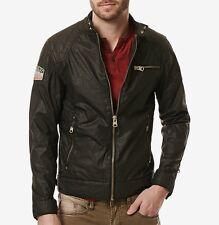 Buffalo David Bitton men's jailon jacket size xl motorcycle inspired design