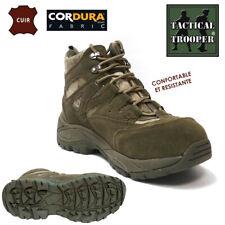 Chaussures / Bottes urban RANGERS TACTICAL TROOPER avec embout métallique ** 40