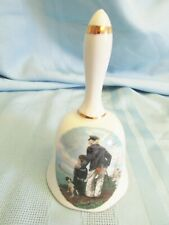 "Norman Rockwell bell Looking Out To Sea from Royal Easton 5"" tall Hmi 1982 Usa"