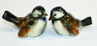 "Goebel Birds Fine China Salt Pepper Shakers W. Germany NOS MINT 2 3/4"" tall"