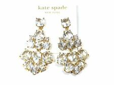 Kate Spade Belle Epoque Earrings NWT HIgh Sparkle with Modern Update