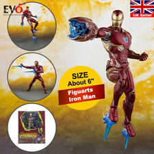 S.H. Figuarts Iron Man MK50 Marvel Avengers Infinity War Action Figure Toy Gift