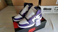 Nike Air Jordan 1 High OG Court Purple Size UK 6 / US 7  – 100% Authentic