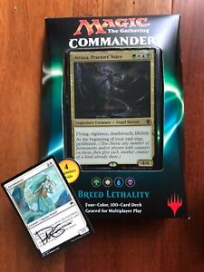 Magic the Gathering Commander 2016 Deck Breed Lethality Factory Sealed with AP