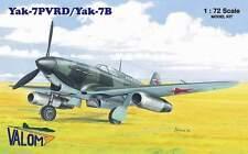 YAKOVLEV YAK-7PVRD/YAK-7B  VALOM 1/72 PLASTIC KIT