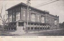 Postcard Hamilton Apartments Norristown PA