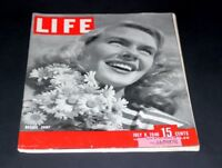 LIFE MAGAZINE JULY 8 1946 BASQUE SHIRT JEAN WELCH