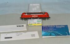 N Scale Trix minitrix 12766 Railion BR 182 Electric Locomotive w/ DCC Decoder