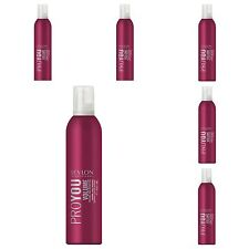 Revlon (ProYou VOLUME Mousse) Normal Hold 400ml (All hair types) X 6 CANS