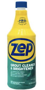 Zep GROUT CLEANER & Whitener 32 oz. Bleach-Free Professional Strength