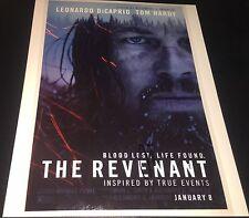 Leonardo DiCaprio The Revenant Hand Signed Autographed 11x14 Photo COA Proof