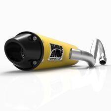 HMF Performance Full System Yellow w/Euro-Blk Cap Exhaust Honda TRX 400EX 99-14