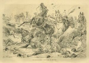 CRIMEAN WAR THE BALACLAVA CHARGE LORD CARDIGAN vs RUSSIAN FORCES HORSES BRIGADE