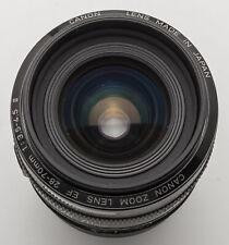 Canon EF 28-70 mm 28-70 mm 1:3. 5-4.5 3.5-4.5 II-EOS Digital