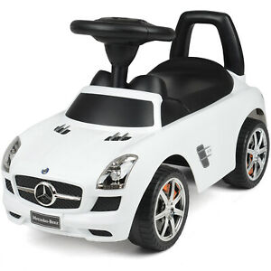 Mercedes Benz Ride On Car Kids Foot To Floor With Sound Effects Licensed Toy